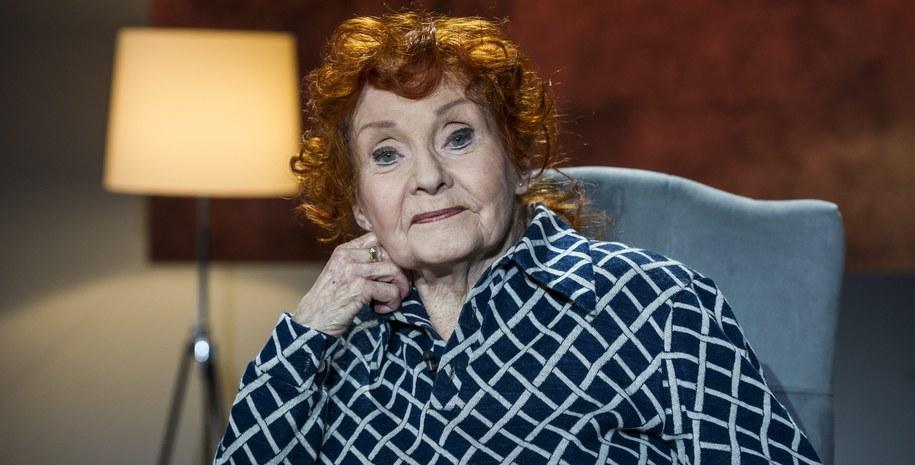 Barbara Krafftówna na zdj. z 2016 roku /Jan Bogacz /TVP/PAP