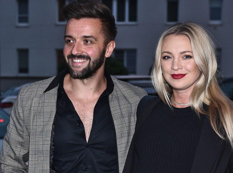 Barbara Kurdej-Szatan i Rafał Szatn po raz drugi zostali rodzicami. Małżeństwo ma starszą córkę /Andreas Szilagyi  /MWMedia