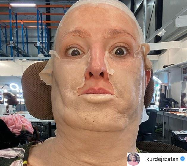 """Barbara Kurdej-Szatan, """"Twoja Twarz Brzmi Znajomo"""" https://www.instagram.com/kurdejszatan/ /Instagram"""