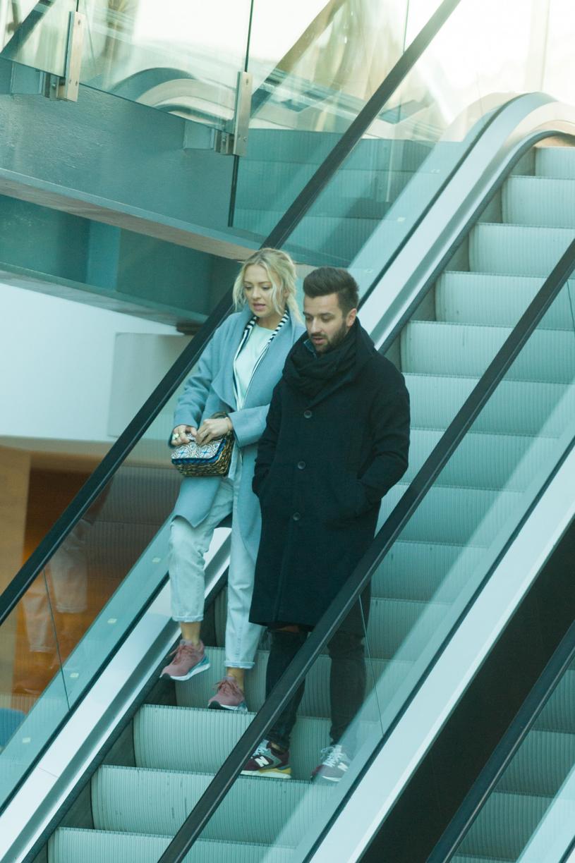 Barbara Kurdej-Szatan z mężem /Zawadzki /Reporter