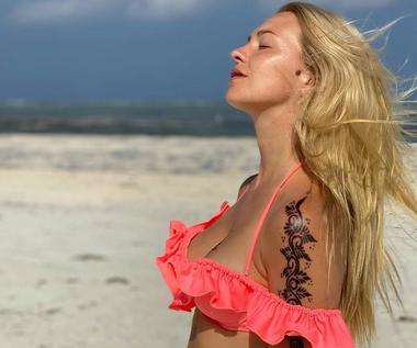 Barbara Kurdej-Szatan zrobiła sobie tatuaże. Może mieć problemy?