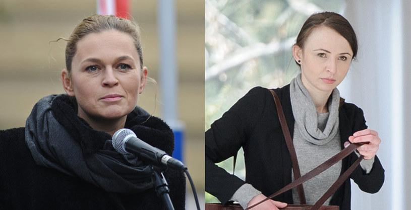 Barbara Nowacka (fot. Daniel Gnap) i Agnieszka Dziemianowicz-Bąk (Rafał Oleksiewicz/Reporter) /East News
