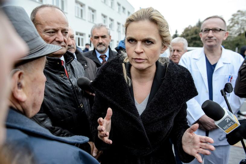 Barbara Nowacka, liderka Zjednoczonej Lewicy /Wojciech Pacewicz /PAP