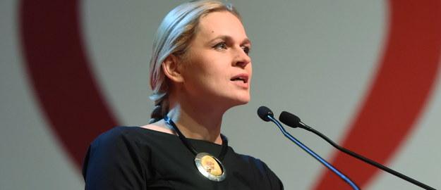 Barbara Nowacka /Grzegorz Michałowski /PAP