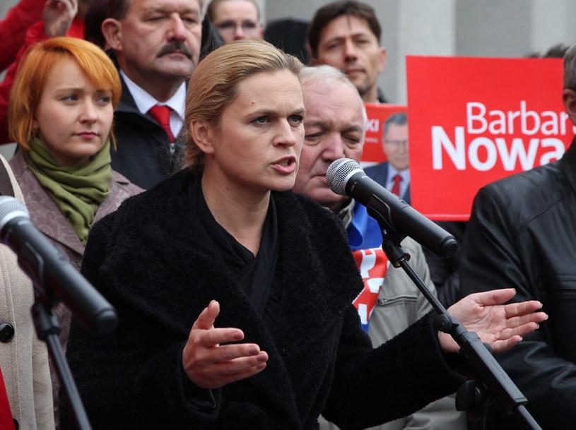 Barbara Nowacka /Andrzej Grygiel /PAP