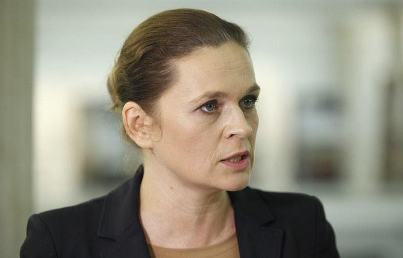 Barbara Nowacka /Stanisław Maszewski  /Reporter