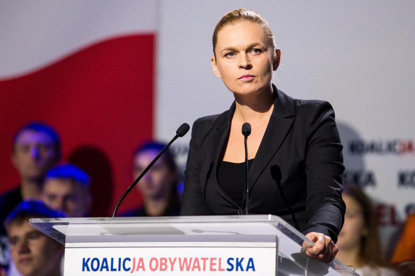 Barbara Nowacka /Marek Kuwak /Reporter