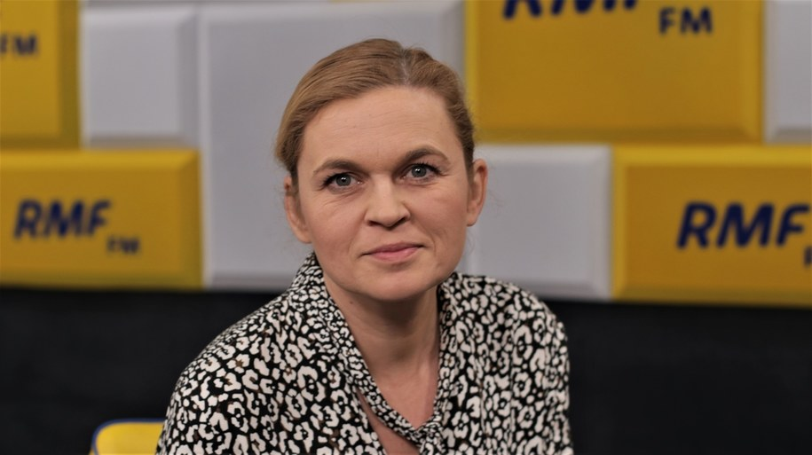 Barbara Nowacka /Jakub Rutka /Archiwum RMF FM