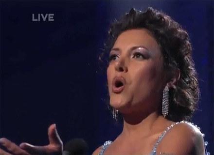 """Barbara Padilla w """"America's Got Talent"""" / NBC /"""