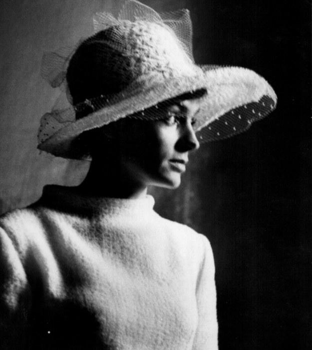 Barbara Sarapuk - fotografia z albumu rodzinnego /Archiwum autora