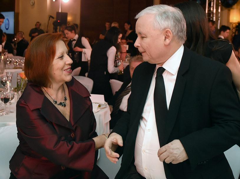 Barbara Skrzypek współpracowała z Jarosławem Kaczyńskim od 30 lat /Adam Chełstowski /Agencja FORUM