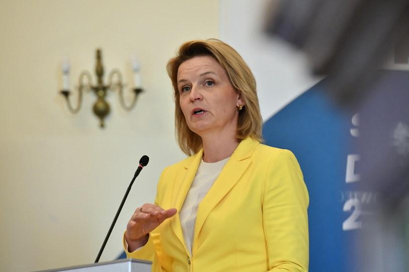 Barbara Socha, wiceminister rodziny i polityki społecznej, pełnomocnik rządu ds. polityki demograficznej /PAP