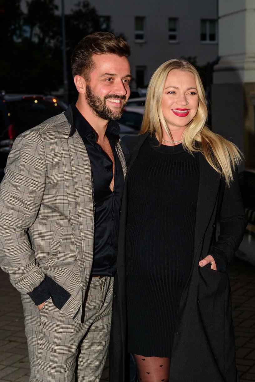 Barbara z mężem /Zawadzki /Reporter