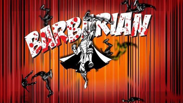 """""""Barbarzyńca"""" od The Darkness /Oficjalna strona zespołu"""