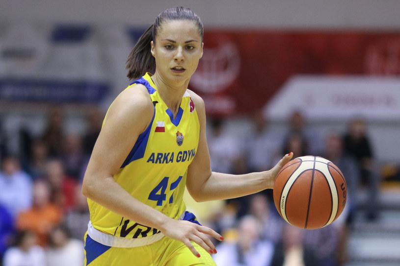 Barbora Balintova z Arki Gdynia /Grzegorz Jędrzejewski /Newspix