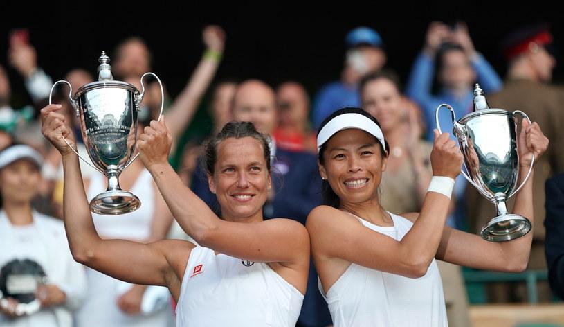 Barbora Strycova i Su-Wei Hsieh /PAP/EPA