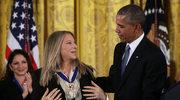 Barbra Streisand z Medalem Wolności