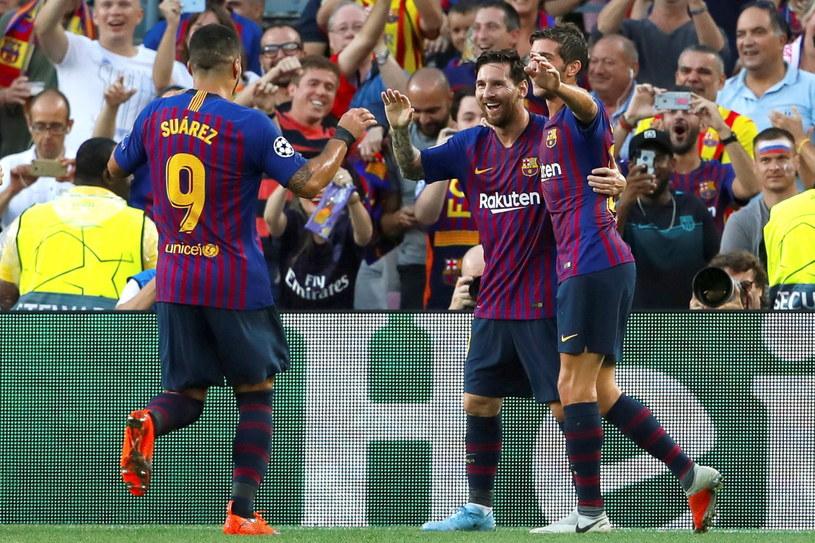 Barcelona broni mistrzowskiego tytułu /PAP/EPA