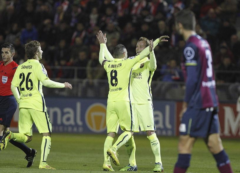 Barcelona nie miała kłopotów z pokonaniem trzecioligowca /PAP/EPA