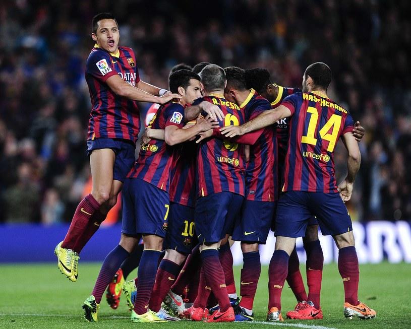 Barcelona po dobrym meczu pokonała Athletic 2-1 /AFP