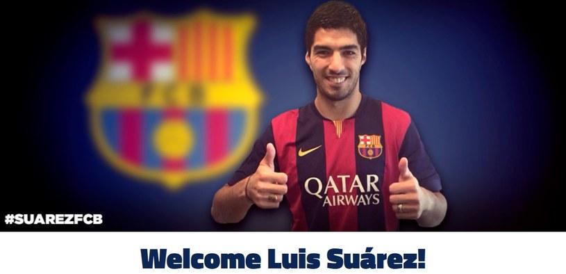 Barcelona pochwaliła się nowym nabytkiem na swojej stronie internetowej /INTERIA.PL
