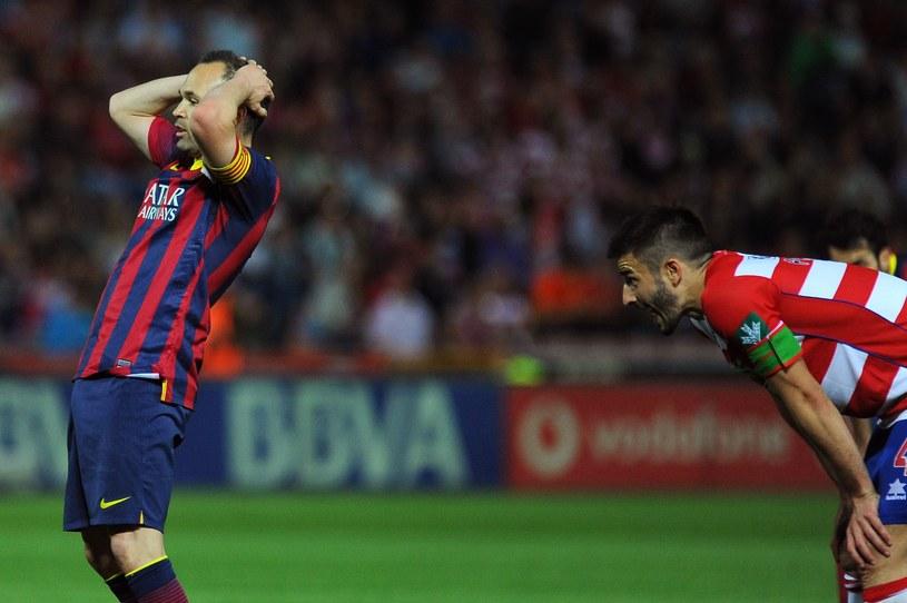 Barcelona straciła cenne punkty w walce o mistrzostwo Hiszpanii /AFP