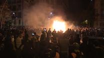 Barcelona w ogniu. Mieszkańcy protestują przeciw wyrokowi Sądu Najwyższego
