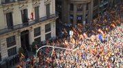 Barcelona: Wielka manifestacja przeciwników secesji Katalonii