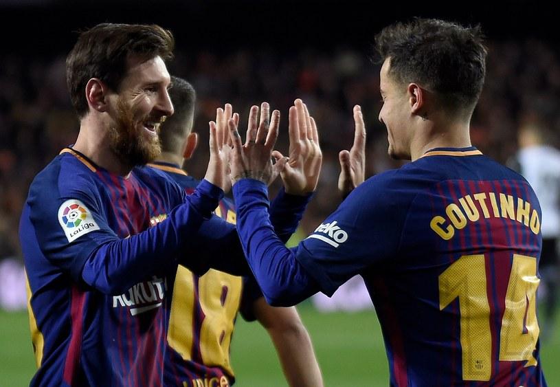 Barcelona z Messim i Coutinho walczy o kolejne punkty z Getafe /AFP