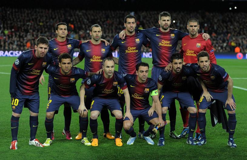 Barcelona zagra z reprezentacją Malezji /AFP