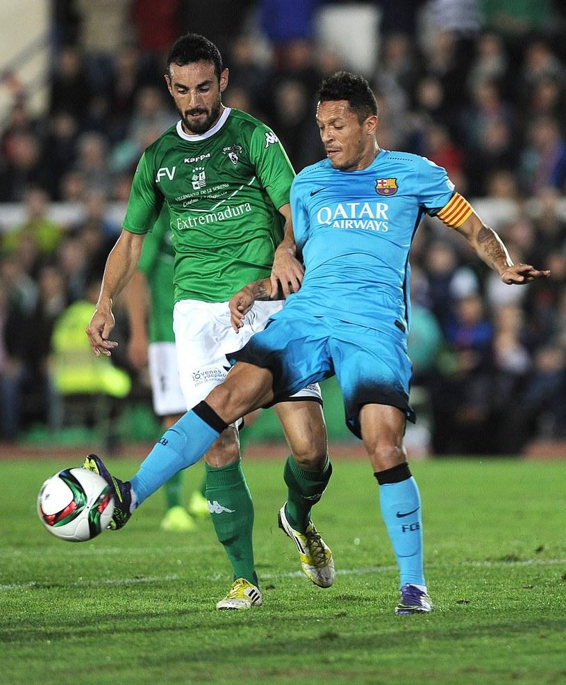 Barcelona zagrała z Villanovense w rezerwowym składzie /AFP