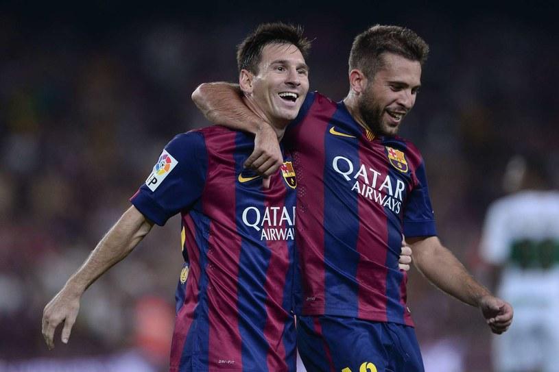 Barcelona zarabia krocie na reklamach na koszulkach /AFP