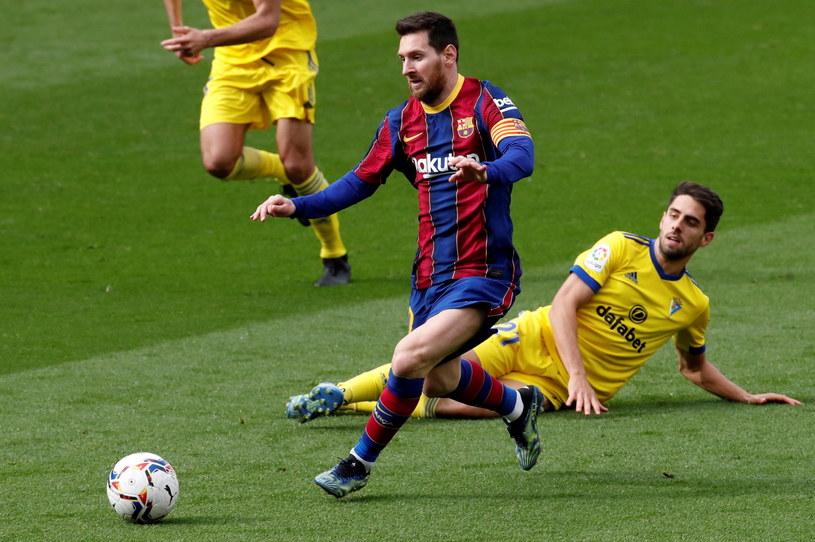 Barcelona znów traci punkty. Gol Lionela Messiego wystarczył tylko na remis /PAP