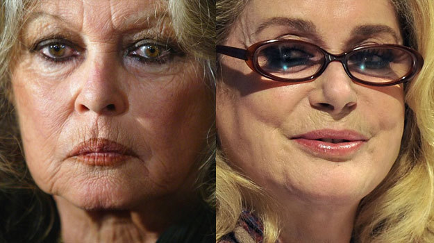 Bardot: Deneuve okrywa się trupami! /AFP