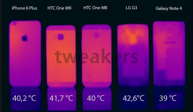 Bardziej nagrzewa się LG G3 /materiały prasowe
