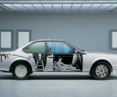 Bardzo dziwne BMW