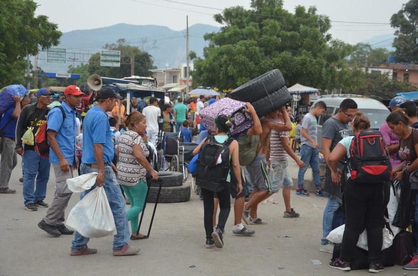 Bardzo trudna sytuacja na granicy Wenezueli z Kolumbią /materiały prasowe