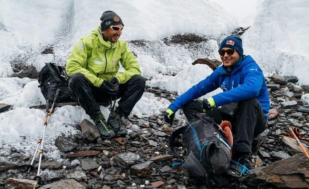 """Bargiel z bazy pod Gaszerbrumem II: Jest tu skomplikowany """"icefall"""". Wygląda jak labirynt"""