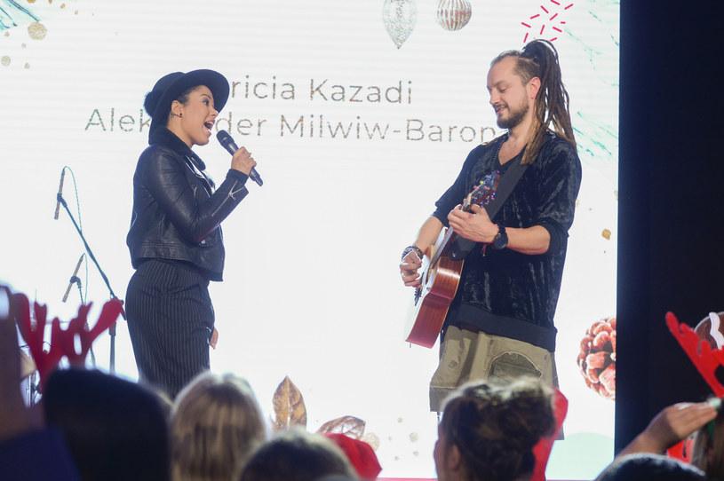 Baron i Patrycja Kazadi /AKPA