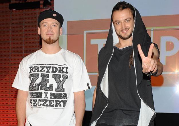Baron (z prawej) ostro skrytykował młodą Olę Chaładaj /MWMedia