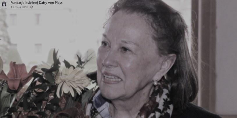 Baronówna pochodziła ze słynnego śląskiego rodu. Zmarła w ostatnią niedzielę /@FundacjaKsiężnejDaisyvonPless /Facebook