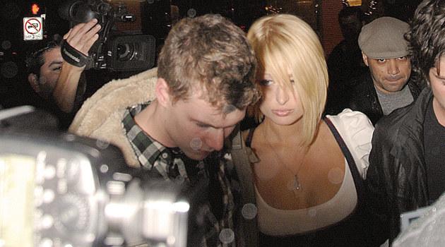 Barron i Paris Hilton  /Splashnews