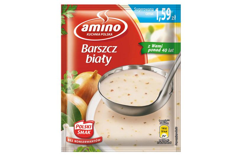 Barszcz biały Amino /materiały prasowe