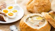 Barszcz biały w chlebie