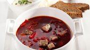 Barszcz czerwony z mięsem