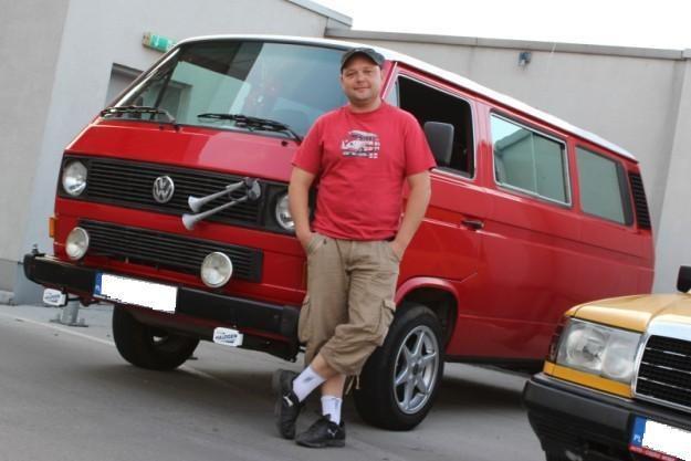 Bartek i jego VW T3 /INTERIA.PL