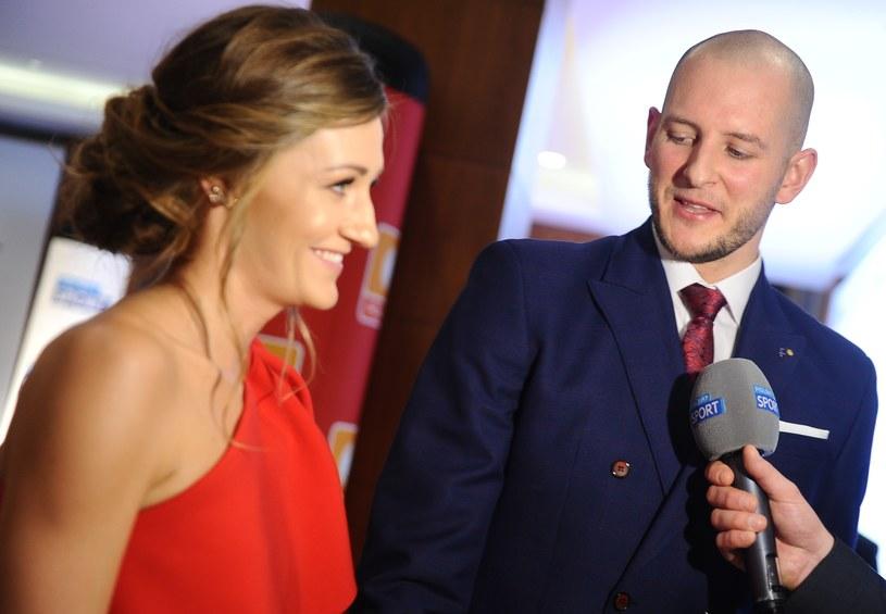 Bartek Kurek i Anna Kurek chętnie pokazują się na salonach. Nie  stronią od mediów /MWMedia