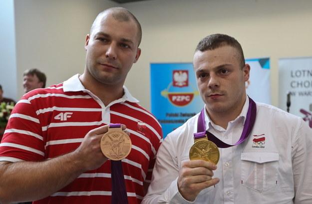 Bartłomiej Bonk i Adrian Zieliński /Rafał Guz /PAP