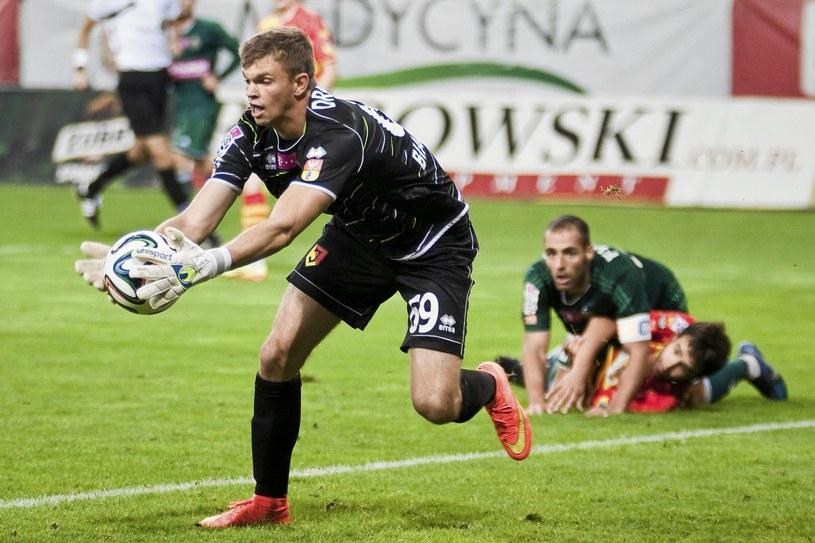 Bartłomiej Drągowski w meczu z Lechią się nie popisał /Marcin Onufryjuk /
