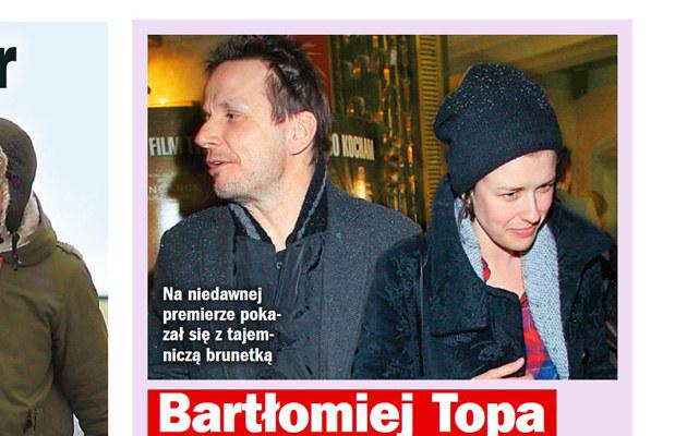 """Bartłomiej i Anna na premierze filmu """"Nieulotne"""" /Życie na gorąco"""
